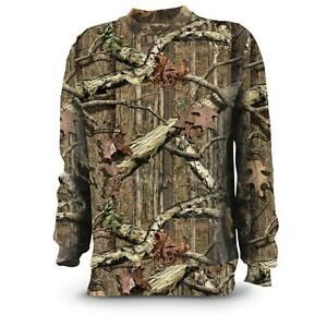 20d2352c Russell Outdoors Mens S-3XL Long Sleeve Mossy Oak Break Up Infinity ...