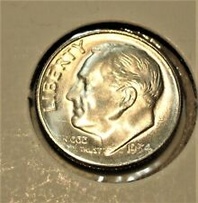 1954-S Silver Roosevelt Dime Choice to Gem Uncirculated Free Shipping