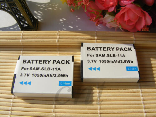 CL65 CL80 // EX1 // HZ25W HZ30W 2  SLB-11A SLB-11EP  Battery for  Samsung CL5
