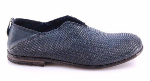 Italy Femme Bleu Moma Canguro Intreccio 1f New Cuir Da 34505 Chaussures Vintage Tv0qHdww