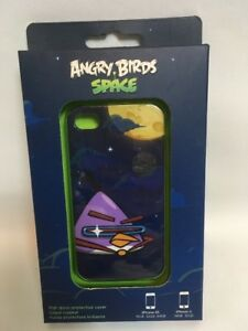 Angry Birds Space Case Apple iPhone 4/4S Laser Bird ICAS421US Gear4 Purple B3