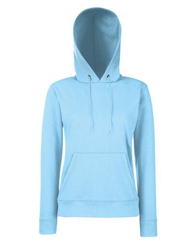 Damen Sweatshirt Sweater Kapuzenpullover S M L XL 2XL Fruit of the Loom Pulli