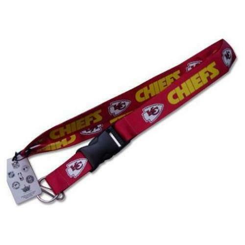 Red Kansas City Chiefs Lanyard