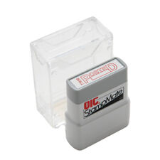 Officemate Pre Inked Self Inking Stamp For Office Or Business Posted