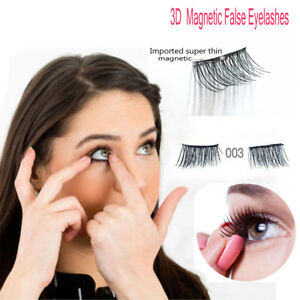 1Pair-4pcs-3D-Magnetic-False-Eyelashes-Handmade-Natural-Extension-Thinner-Magnet