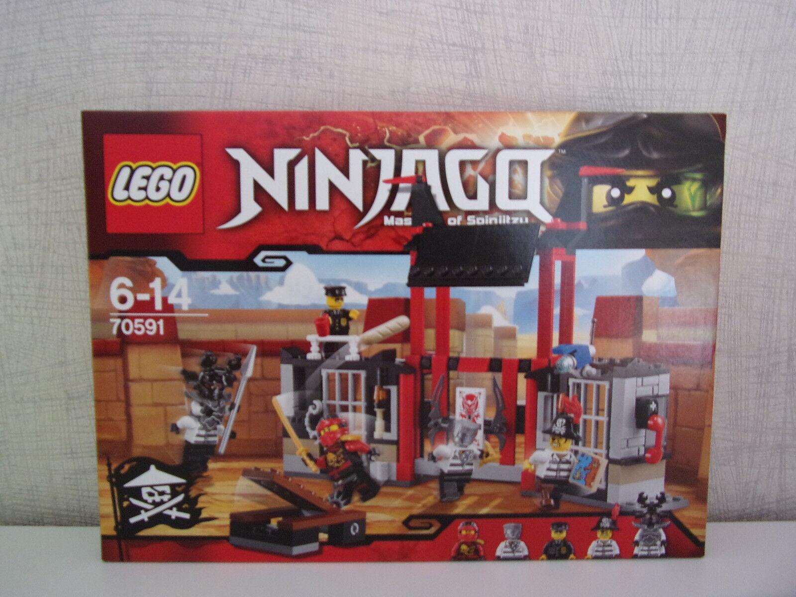 Lego Ninjago 70591 Kryptarium-Pause Prison - Neuf et Emballage D'Origine