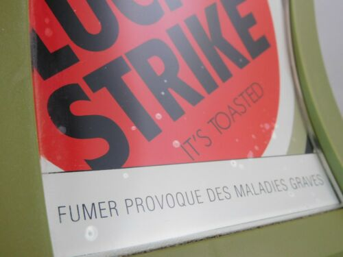 Details about  /Pick currency advertising lucky strike 17cm x 21 cm t16 show original title