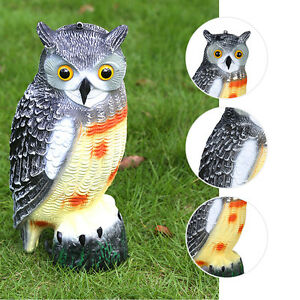 High Quality Image Is Loading Owl Wind Action Rotating Moving Head Ornament Garden