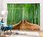 3D Bamboos Stairs Blockout Photo Curtain Printing Curtain Drape Fabric Window AU
