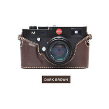 Ciesta Leather Case Leica M Dark Brown