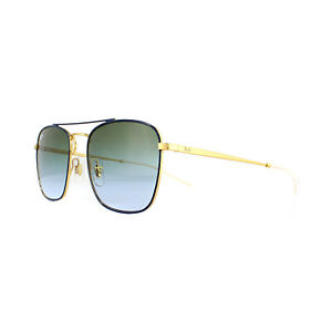 df9b6dad4406 Image is loading Ray-Ban-Sunglasses-3588-9062I7-Blue-Gold-Green-