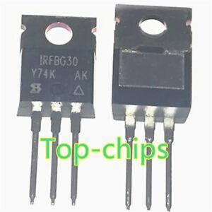 5pcs-IRFBG30PBF-IRFBG30-MOSFET-N-CH-1KV-3-1A-TO-220