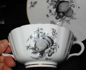 Lovely Elegant Royal Worcester Fruit Pattern, Large Cream Soup ...