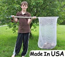 Dip Catch Net Replacement Net Fishpoultry Minnow Seine Net Only No Frame