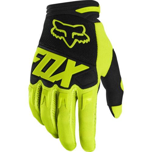Gants De Vtt Fox Dirtpaw Race Glove Flo Yellow