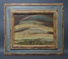 Thomas Frederick McKnight (*1941 Kansas USA) Frisian Hunters  - Naive Kunst