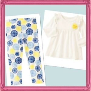 Gymboree NWT ALOHA SUNSHINE Brown Floral Dress Tank Sun 12 18 24 2 2T 3 3T