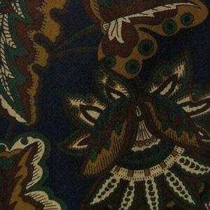 Cachemire Bleu Soie Cravate