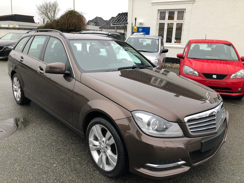 Mercedes C200 2,2 CDi stc. BE 5d - 155.900 kr.