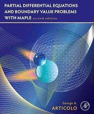 Partial Differential Equations and Boundary Value Problems w/Maple Int'l Edition
