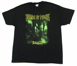 Cradle-Of-Filth-Thornography-2007-Tour-Black-T-Shirt-New-Official-Tournography