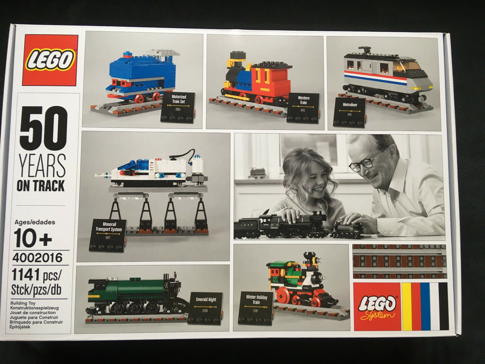 LEGO 4002016 50 Years on track New Collectible