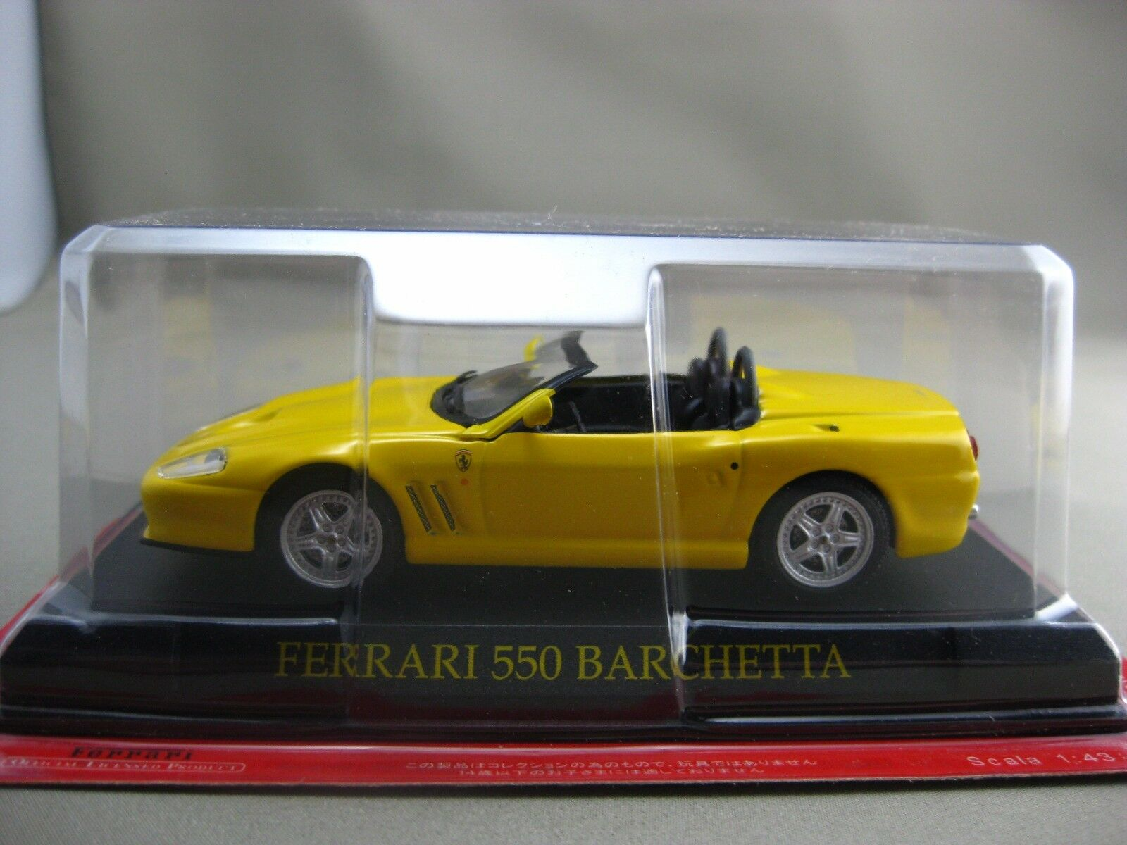 Ferrari 550 BARCHETTA hachette 1 43 Diecast car Vol.24