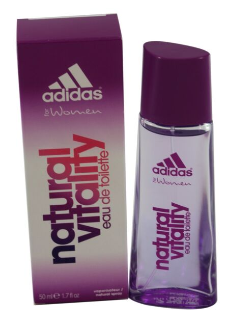 ADIDAS NATURAL VITALIY 1.6 / 1.7 OZ EDT SPRAY FOR WOMEN BY ADIDAS & NEW IN A BOX