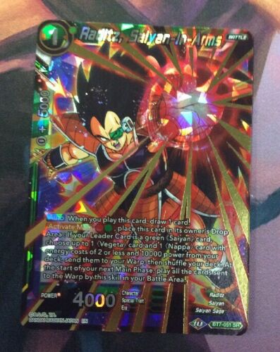 Sayain-In-Arms DBS BT7-051 Details about  /Raditz
