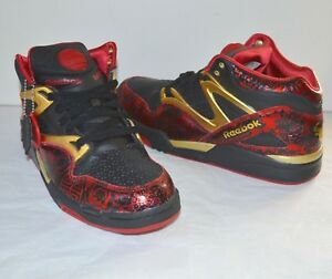 Details about New Year of the Ox Reebok Pump Omni Lite BlackHavana RedGold 11 RARE Chinese