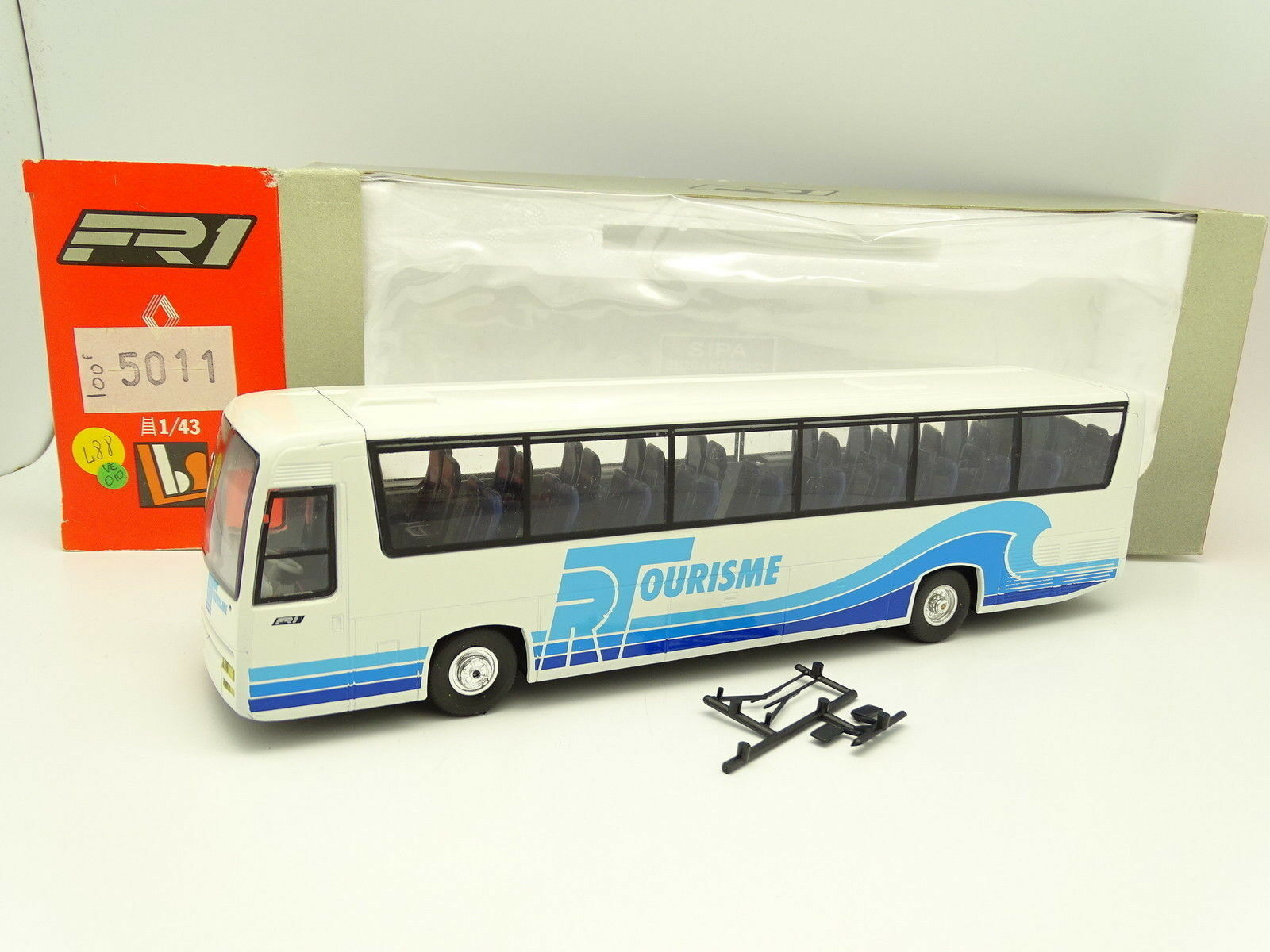 Eligor LBS 1 43 - Bus Car Autocar Renault FR1 RT Tourisme
