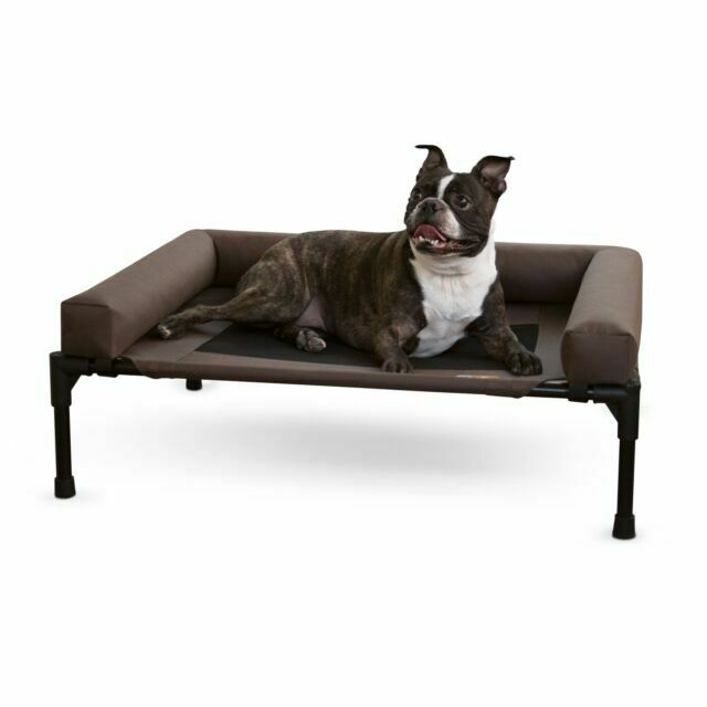 K /& H Pet Products Pet Cot Large Chocolate ---brand new