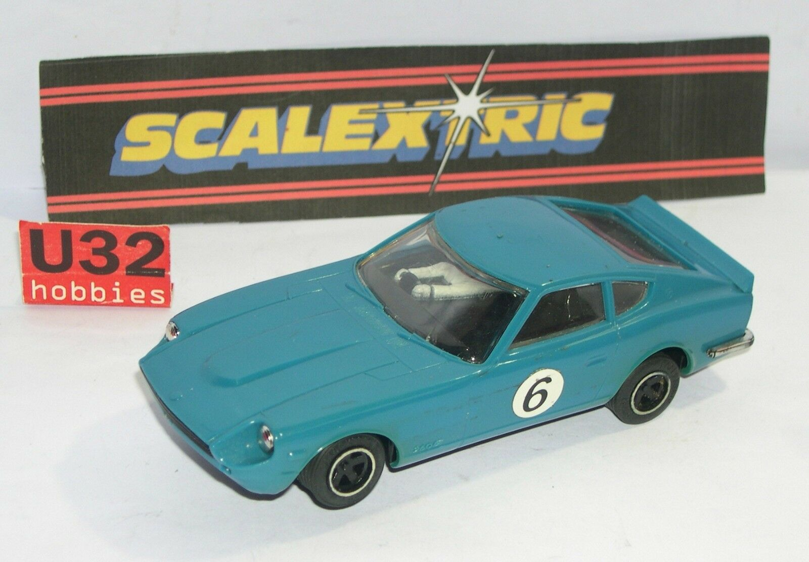 FN SCALEXTRIC C-053 DATSUN 260Z blueE EXCELLENT CONDITION UNBOXED
