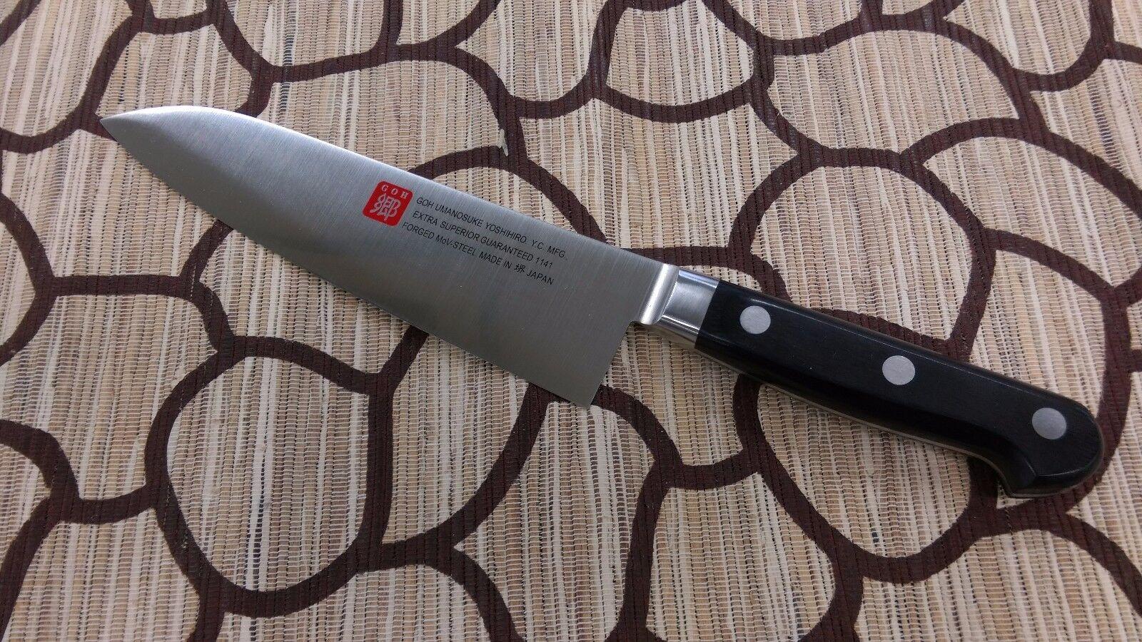 Sakai japonais couteaux de cuisine  Yoshihiro chef Garanti  1141 Santoku Couteau