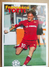 Card Francesco Totti Roma Italy Italia football photo foto