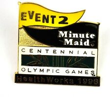 Coca Cola Minuto Cameriera Pin Pulsante Stemma Spilla USA - Olympias 1996