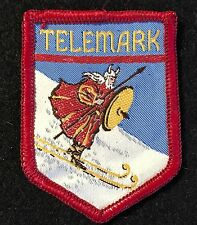 TELEMARK Lost Ski Area 1947-2013 Skiing Patch Wisconsin WI Souvenir Travel 1960s