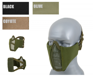CS - Half Face Schutzmaske Protective MESH Mask 2.0 Airsoft Militär Ausrüstung A