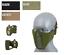 Indexbild 1 - CS - Half Face Schutzmaske Protective MESH Mask 2.0 Airsoft Militär Ausrüstung A