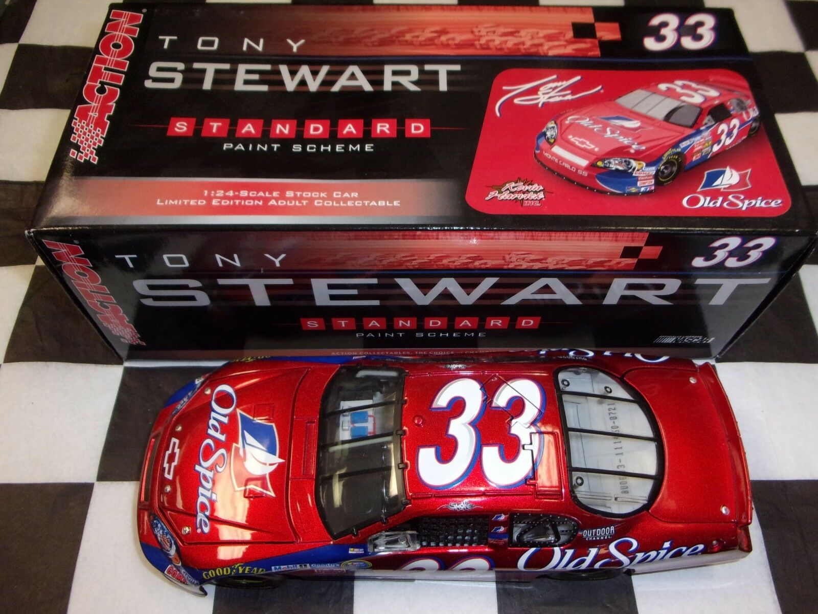 Tony Stewart  33 Old Spice 2006 Monte Carlo NASCAR Action 1:24 scale car 111450