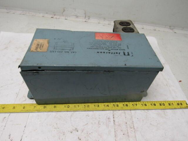 Jefferson Electric 350W Metal Halide Ballast Cat# 404-0350-04T  . YJ-002 NIB.