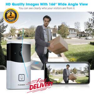 Wireless-WiFi-Video-Doorbell-Smart-Real-Time-DoorRing-Intercom-Security-Cam-Bell