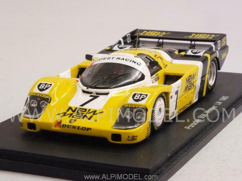 Porsche 956 Winner Le Mans 1985 Ludwig - Barilla - Winter 1:43 Spark 43LM85