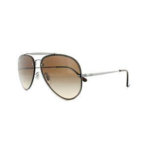 Ray-Ban Sunglasses Blaze Aviator 3584N 004 13 Gunmetal Brown ... 1da62c4e26