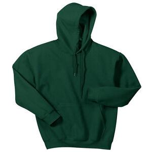 c8d62d39c3f Hooded Sweatshirt Men s Adult Blank Hoodie Heavy Blend 8 oz Forest ...