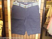 Chaps - Teen - Shorts W/belt - Navy - Size 16 (ac-17-993)