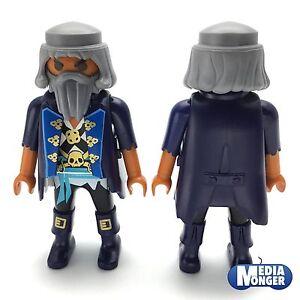 playmobil-Figur-Pirat-Seeraeuber-Kapitaen-dunkelblau-weiss-gold-6678