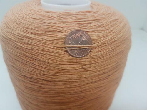 Wolle Garn Stricken /& häkeln|Kone 100/% baumwol orange 900gr //Nm 7//1 Cotton bw22