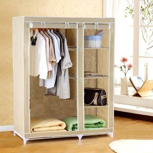 Folding Wardrobe Cupboard Almirah IV C available at Ebay for Rs.1750