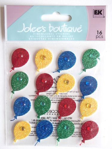 Jolee/'S BOUTIQUE Pegatinas globo fiesta se repite